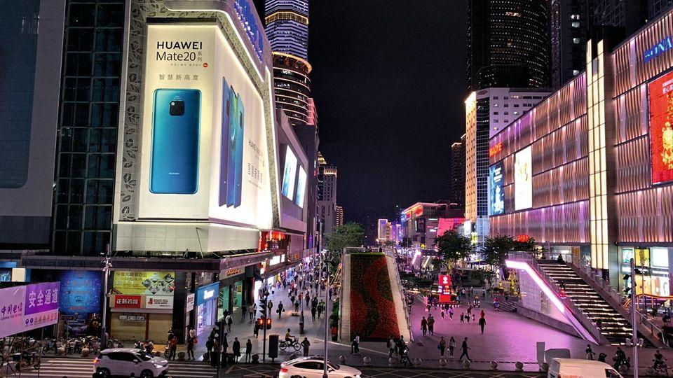 Shenzhen ist das Schaufenster des chinesischen Tech-Wirtschaftswunders