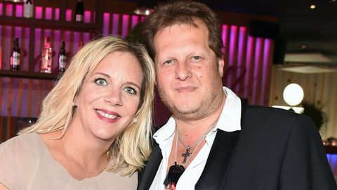 Daniela Büchner mit ihrem verstorbenen Mann Jens