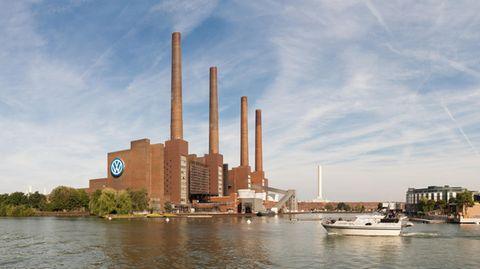 Altes Heizkraftwerk des Volkswagenwerks Wolfsburg.