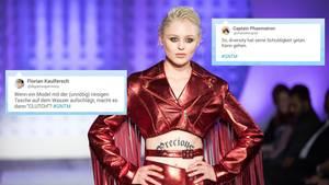 GNTM: Twitterreaktionen zu Folge 8