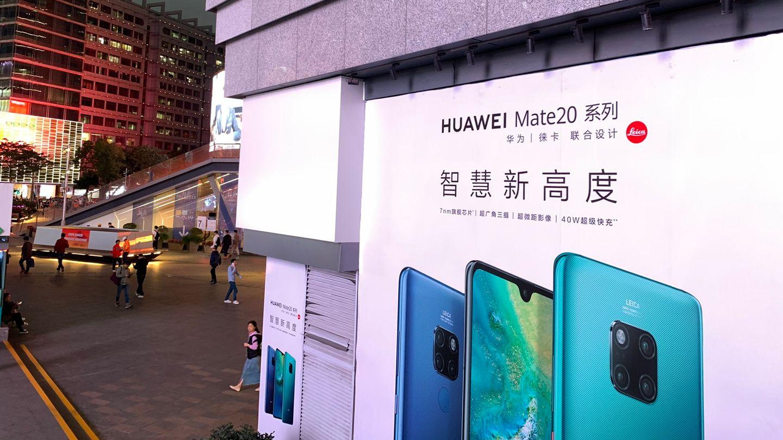 In Huaweis Heimat China ist der Konzern schon jetzt Marktführer
