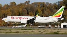 Eine Boeing 737 Max der Ethiopian Airlines