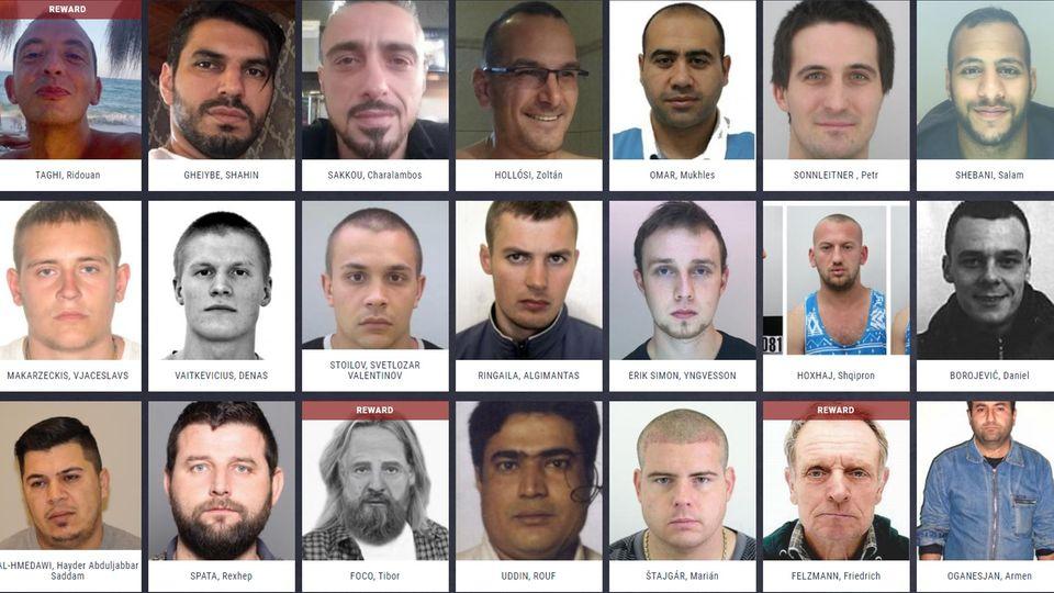 """Europol sucht die """"EU Most Wanted"""" – erkennen Sie einen der 47 Schwerverbrecher?"""