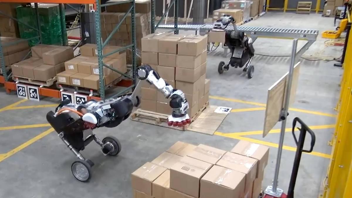 Amazon freut sich: Diese neuen Roboter könnten bald Logistik-Arbeiter ersetzen