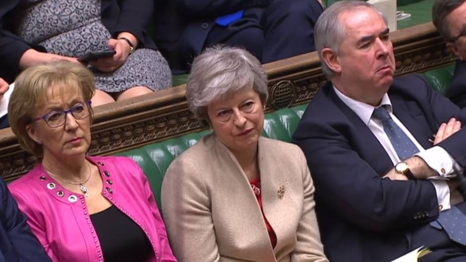 Theresa May im Parlament