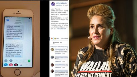 "Comedian Idil Baydar alias ""Jilet Ayşe"" erhält übelste Morddrohungen"