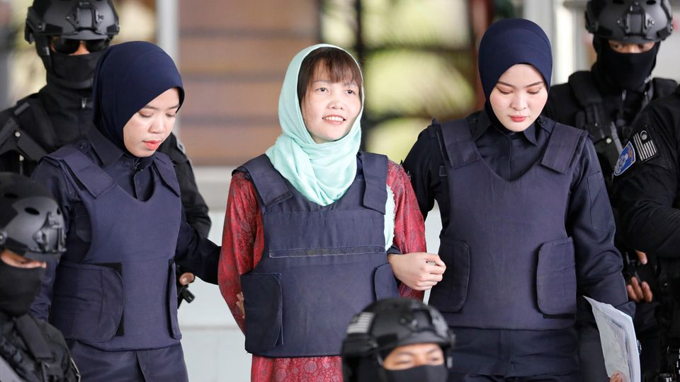 Kim-Attentäterin zu drei Jahren und vier Monaten Haft verurteilt