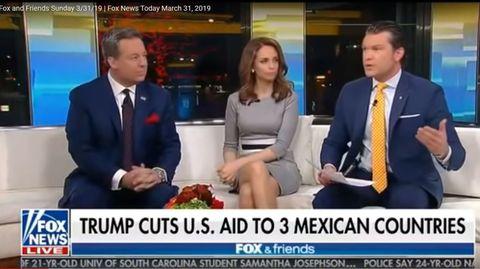 """""""Trump kürzt3 mexikanischen Ländern US-Hilfe"""": Die Zeile brachte dem Nachrichtensender viel Spott ein"""