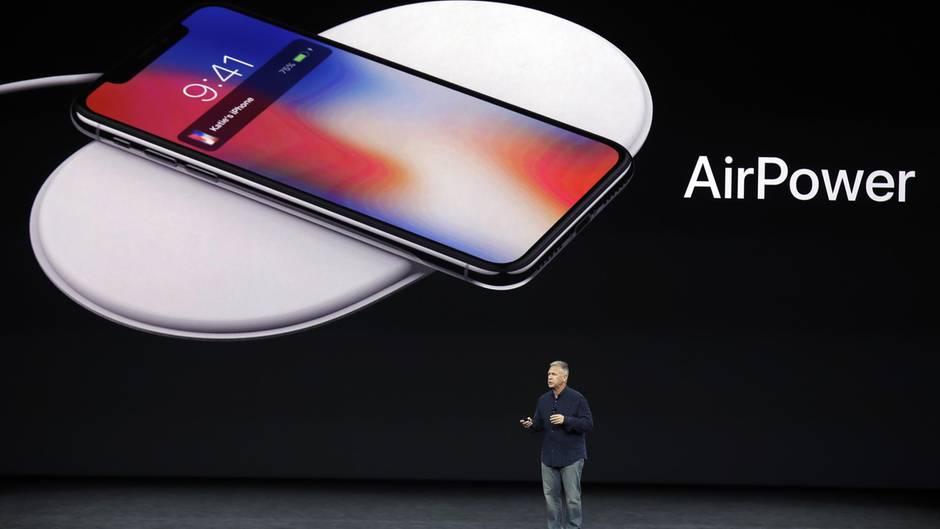 Gemeinsam mit iPhone X und iPhone 8 kündigte Apple am 12. September 2017 auch AirPower an