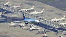 Platz 9: Tokio Narita (NRT), Japan  Der Airport 60 Kilometer nordöstlich von Tokio gehört zu den beiden großen Flughäfen der japanischen Hauptstadt. Er verfügt über zwei Pisten, drei Terminals und mehrere Zuganbindungen und verzeichnetüber 40 Millionen Passagiere pro Jahr.