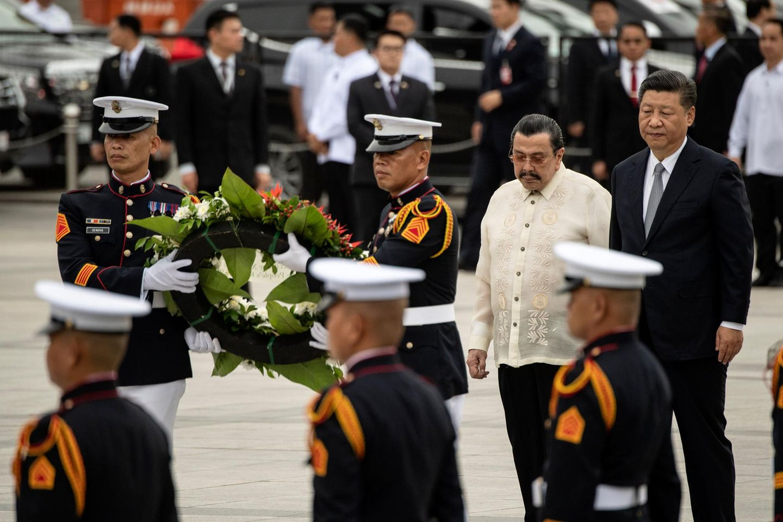 Joseph Estrada und Xi-Jin-Ping