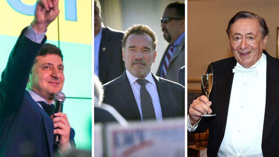 Nach Wahl: TV-Stars und Komiker in der Politik: Der Ukrainer Selenski hat berühmte Vorbilder