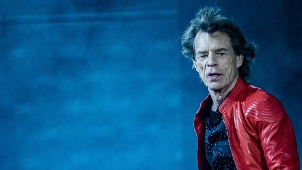 Frontmann Mick Jagger von den Rolling Stones