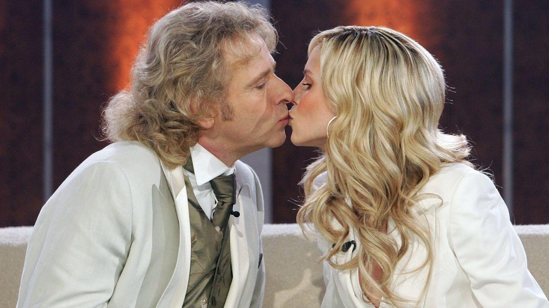 """Thomas Gottschalk und Heidi Klum 2005 bei """"Wetten, dass..?"""""""