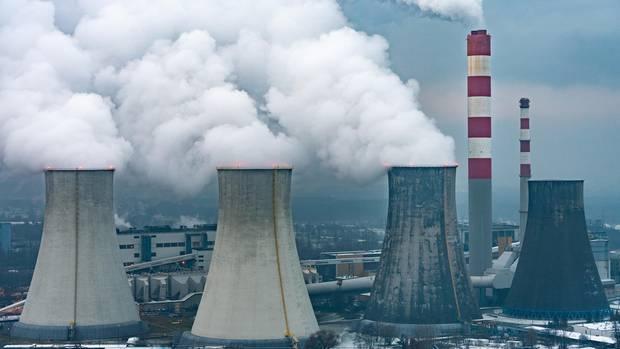 Ein Kohlekraftwerk
