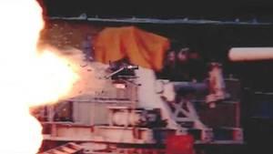 Railgun Testschüsse