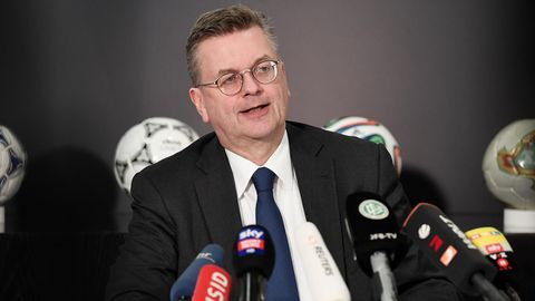 DFB-Boss Reinhard Grindel