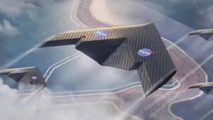 Die Flugzeuge der Zukunft erinnern in der Computervision der Forscher an Papierflieger