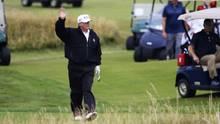 Donald Trump beim Golf