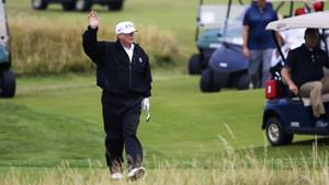 Donald Trump beim Golf
