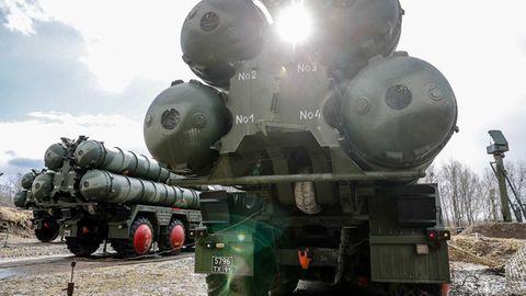 Russland S-400 im Baltikum sperren den Luftraum über den baltischen Staaten.