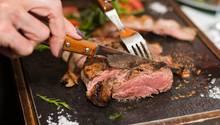 Fleisch im Restaurant