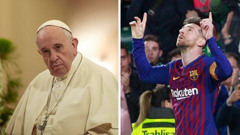 Landsmänner: Messi ein Fußballgott? Das sagt der Papst dazu
