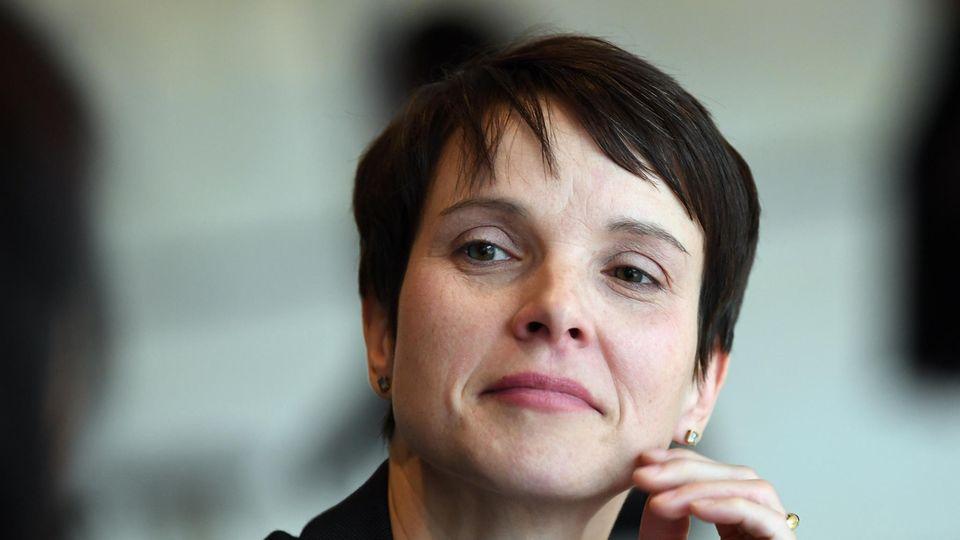 Die frühere AfD-Chefin Frauke Petry