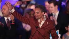 Chicago: Lori Lightfoot feiert ihre Wahl zu Bürgermeisterin