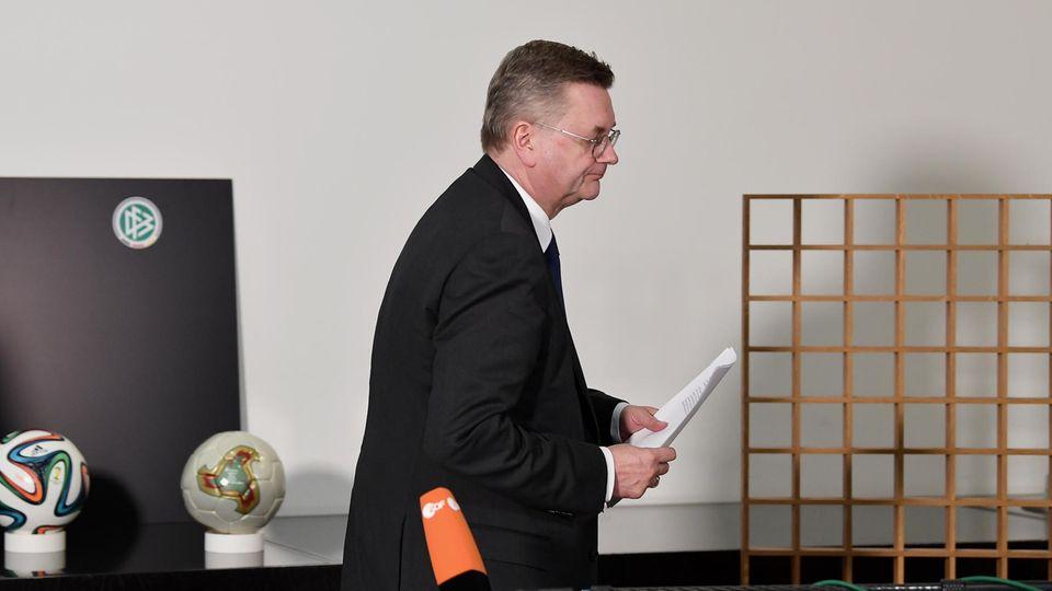 Fragen und Antworten: So geht es beim DFB nach dem Rücktritt von Reinhard Grindel weiter