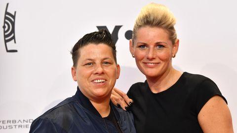 Kerstin Ott und ihre Frau Karolina