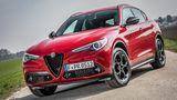 Alfa Romeo Stelvio 2.2 Diesel Q4 - vorne gibt es nur Xenonlicht