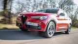 Alfa Romeo Stelvio 2.2 Diesel Q4 - 7,6 Sekunden von null auf Tempo 100