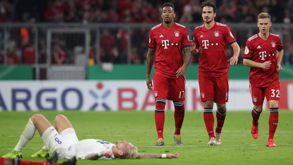 Enttäuschung bei Heidenheim, Freude beim FC Bayern im DFB-Pokal