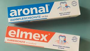 """Ökotest"" prüft Aronal und Elmex"
