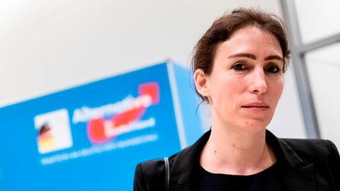 Die AfD-Bundestagsabgeordnete Mariana Harder-Kühnel