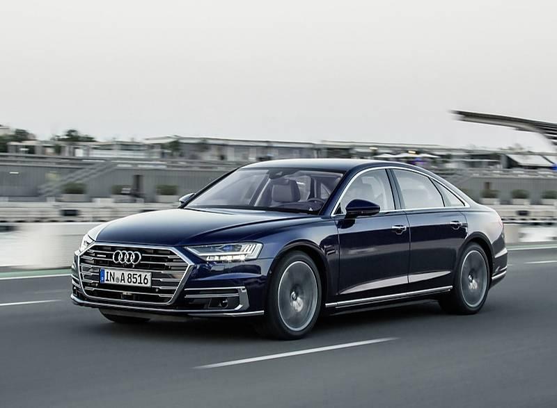 Audi A8 - das autonome Fahren ist bisher nicht freigeschaltet