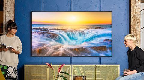 8K-TV: Irre: Samsungs neuer Top-Fernseher ist teurer als ein Porsche