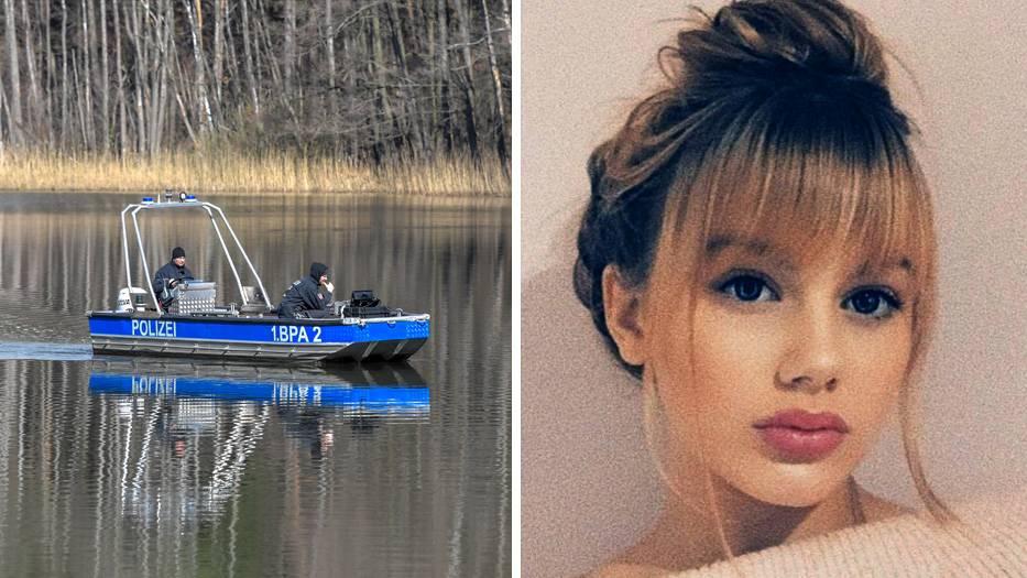 Suchaktion der Polizei am Herzberger See, vermisste Rebecca aus Berlin