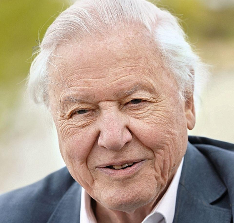 Sir David Attenborough, 92. Sein Markenzeichen: die sanfte und sonore Stimme.