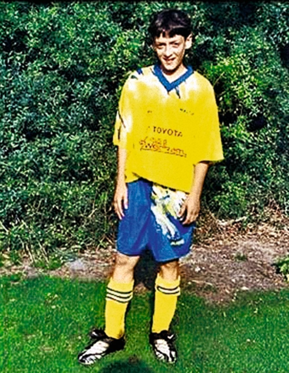 Özil als Jugendspieler im Ruhrgebiet