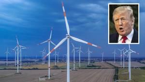 Donald Trump sagt, der Lärm von Windrädern erzeugt Krebs