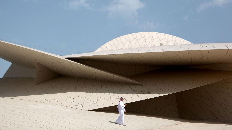Das aufsehenerregende National Museum of Qatar in derStadtDoha wirkt wieeine architektonische Skulptur