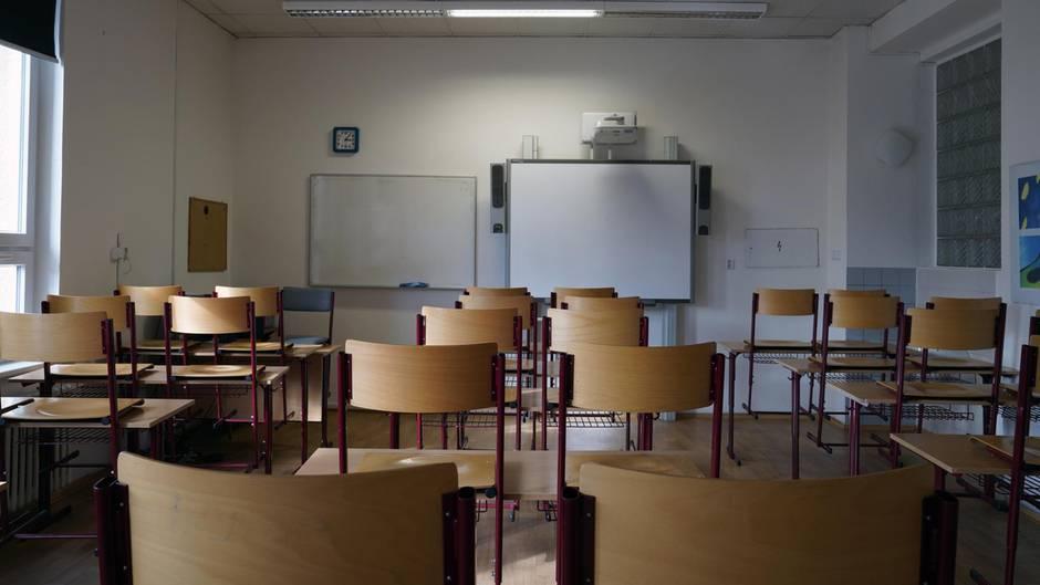 Ein Klassenzimmer einer Schule in den USA