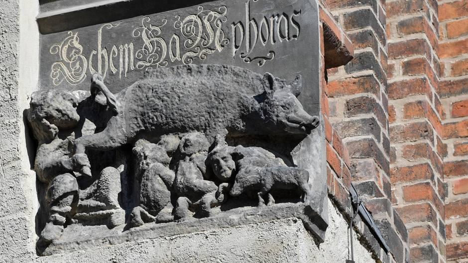"""Wittenberg - Prozess um sogenannte """"Judensau""""-Plastik"""