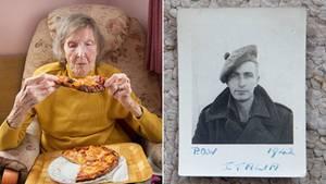 Diese Frau wartete 94 Jahre auf ihre erste Pizza