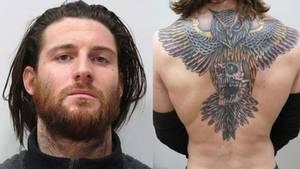Das riesige Rücken-Tattoo sollte einen älteren Schriftzug überdecken