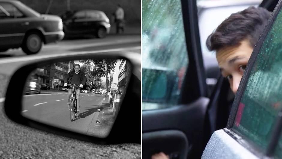 Fahrrad Unfälle: Dieser Trick kann Radfahrern das Leben retten