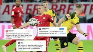 """#FCBBVB Netzreaktionen: """"Trommelfeuer aus der Lederhose"""" – Twitter-User zerlegen Dortmunder ein zweites Mal"""