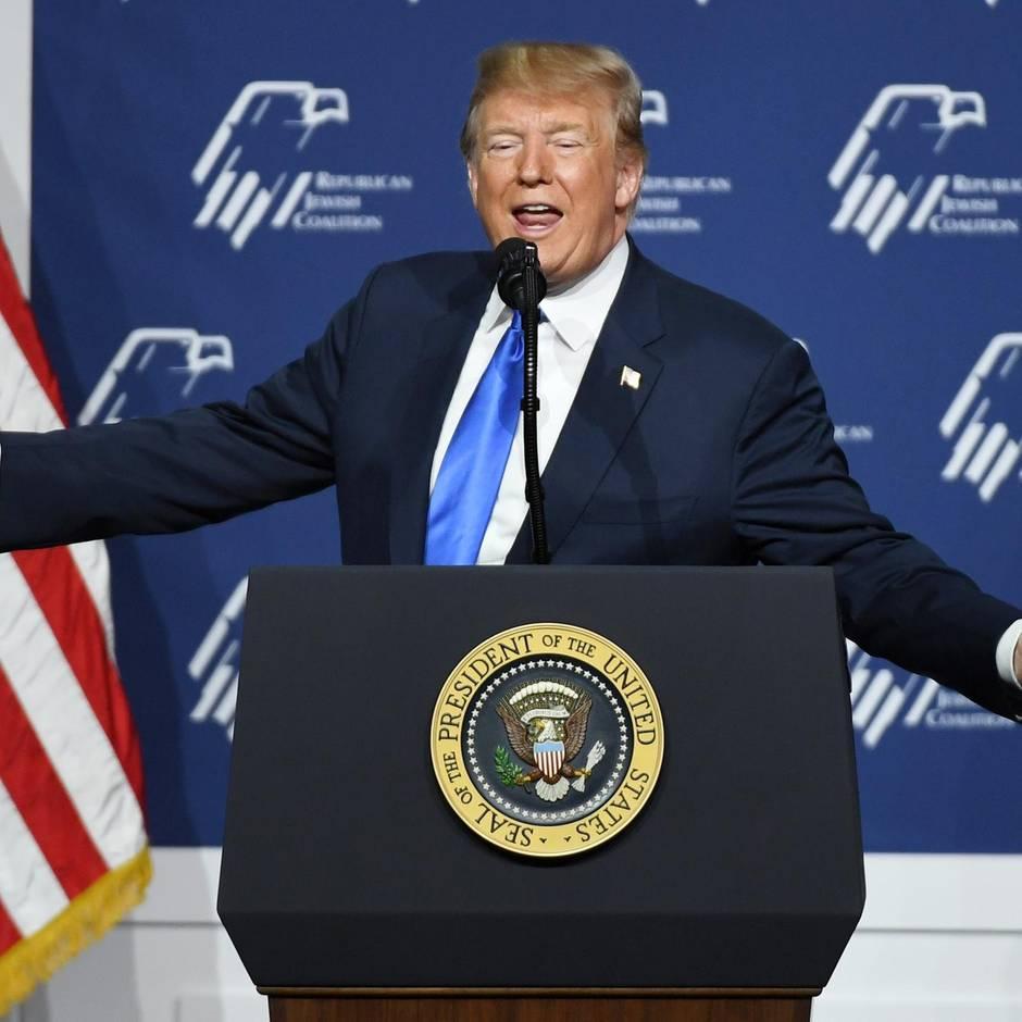 Auftritt vor jüdischen Republikanern: Trump verwirrt US-Juden mit einer Rede, weil er sie für Israelis hält